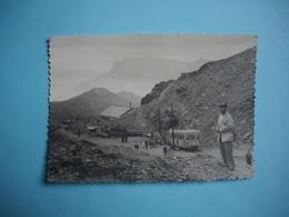 PHOTOGRAPHIE GLACIER De BIONASSAY - 74 -  à L'Arrivée Du TBM - Tramway  - 1961 -  8,4  X  12  Cms  -  Haute  Savoie - Andere Gemeenten