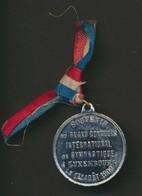 LUXEMBOURG * SOUVENIR GRAND CONCOURS GYMNASTIQUE * 1909 * 6 GR - Elongated Coins