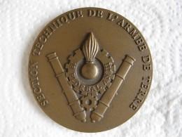 Médaille Section Technique De L'Armée De Terre - Militaria
