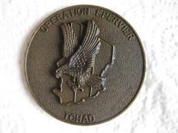 Médaille Opération Epervier - Tchad - Militaria