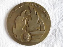 Médaille Commissariat De L'Air, Attribué Commissaire Général De Brigade Aérienne Pencalet 1999 - Army & War