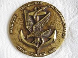 Médaille  9e Antenne Chirurgicale Aerotransportable Tchad  Juin Octobre 1988 - Militari