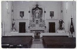 Real Photo Interieur Chapelle Des Frères Des Ecoles Chretiennes à Birchircara - Malte