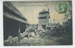 MARSEILLE - EXPOSITION COLONIALE 1922 - Jardin Zoologique Du Palais De L'Afrique Occidentale - Expositions Coloniales 1906 - 1922