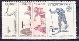 ** Tchécoslovaquie 1951 Mi 671-4 (Yv 584-7), (MNH) - Unused Stamps