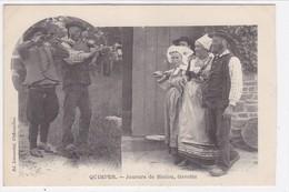 Finistère - Quimper - Joueurs De Biniou, Gavotte - Quimper