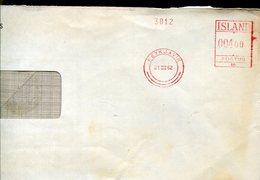 33747 Island, Red Meter/freistempel/ema/reykjavik 1962 - Vignettes D'affranchissement (Frama)