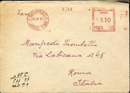 33749 Romania , Red Meter/freistempel/ema/1952 Bucuresti - Marcophilie - EMA (Empreintes Machines)
