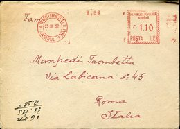 33749 Romania , Red Meter/freistempel/ema/1952 Bucuresti - Marcofilia - EMA ( Maquina De Huellas A Franquear)