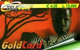 *ITALIA - TELECOM 3* - Scheda Usata - [2] Handy-, Prepaid- Und Aufladkarten