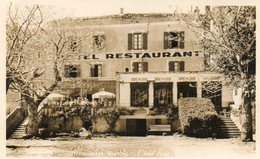 CPSM - ALBOUSSIERE (07) - Aspect De L'Hôtel-Restaurant Serre En 1958 - Sonstige Gemeinden