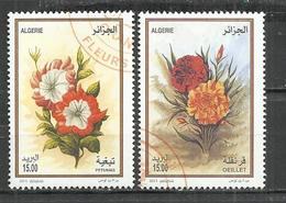 ALGERIA 2013 - FLOWERS - CPL. SET - OBLITERE USED GESTEMPELT USADO - Plants