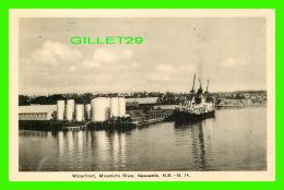 NEWCASTLE, NEW BRUNSWICK - WATERFRONT, MIRAMICHI RIVER - TRAVEL IN 1942 -  LEWIS & NUGENT LTD - - Nouveau-Brunswick
