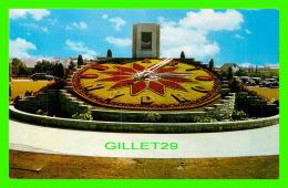 NIAGARA FALLS, ONTARIO - SIR ADAM BECK FLORAL CLOCK QUEENSTON - F. H. LESLIE LIMITED - - Ontario