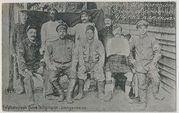 Langensalza Prisoner Camp Foto Hans Tellgmann Russian French Chasseur Alpin Senegalais Scot Kilt 124 Eme 5 Eme - Allemagne
