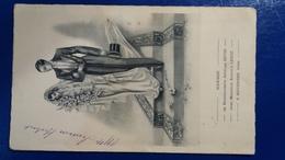 MENU DE MARIAGE DE SOLANGE ET ARMAND 09-11-1946 - Menus