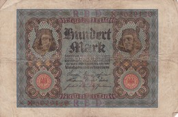 1920 - Allemagne - Germany - Weimar Republic - 100 HUNDERT MARK, Berlin Den 1 November 1920 - [ 3] 1918-1933 : Weimar Republic