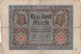 1920 - Allemagne - Germany - Weimar Republic - 100 HUNDERT MARK, Berlin Den 1 November 1920 - [ 3] 1918-1933 : Repubblica  Di Weimar