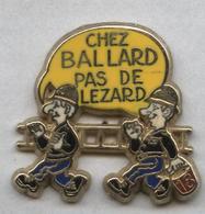 Pin's Sapeur Pompier (signé Ballard) - Firemen