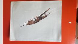 DOUGLAS A 20 HAVOC DB7 GOUACHE AU POCHOIR DE HENRI DE COURTIS WW II AVIATION FRANCAISE 1939 1940 AVION - Aviation