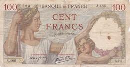 Billet De 100 Francs Type Sully - 24/08/1939 - 1871-1952 Anciens Francs Circulés Au XXème