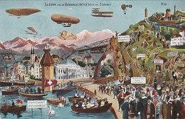 Luzern In Der Zukunft - 1912        (P-137-41230) - LU Lucerne