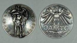 """Autriche Austria Österreich ~1920 ÖAMTC """" Sankt Christophorus """" SILVER Medallion Argent - Austria"""