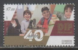 MEXICO, 2017, MNH, SOCIAL WELFARE, CHILDREN, 40th ANNIVERSARY OF DIF MEXICO, 1v - Stamps