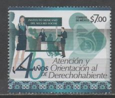 MEXICO, 2017, MNH, SOCIAL SECURITY, HANDICAPPED PEOPLE, 1v - Stamps