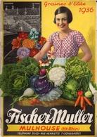 Catalogue 1936 Fischer Muller Mulhouse - Jardinage