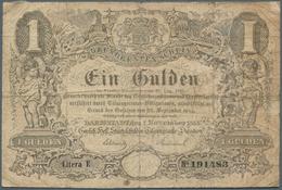 Deutschland - Altdeutsche Staaten: Hessen-Darmstadt: 1 Gulden 1855, PiRi A115 In Stärker Gebrauchter - [ 1] …-1871 : Stati Tedeschi