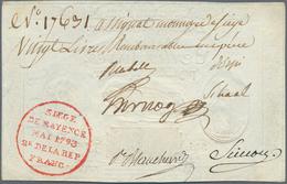 Deutschland - Altdeutsche Staaten: Mainz, Belagerungsgeld 20 Livres 1793 Auf 10 Livres 1791, PiRi A5 - [ 1] …-1871 : Stati Tedeschi