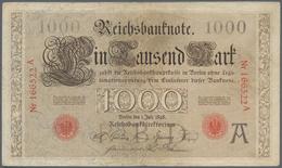 Deutschland - Deutsches Reich Bis 1945: 1000 Mark 1898, Ro.18, Hübsche Gebrauchserhaltung Mit Kleine - [ 4] 1933-1945 : Terzo  Reich