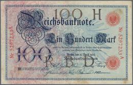Deutschland - Deutsches Reich Bis 1945: 20 Mark 1903, Ro.20, Buchstaben In Schwarz-grau, Mehrere Kni - [ 4] 1933-1945 : Terzo  Reich