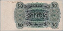 Deutschland - Deutsches Reich Bis 1945: 50 Reichsmark 1924, Ro.170a, Winziger Papierfehler Oben Rech - [ 4] 1933-1945 : Terzo  Reich