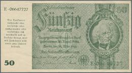 Deutschland - Deutsches Reich Bis 1945: 50 Reichsmark Schörner Notgeldausgabe 1945 Ro 180, Ungefalte - [ 4] 1933-1945 : Terzo  Reich