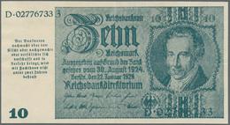 Deutschland - Deutsches Reich Bis 1945: 10 Reichsmark Schörner Notgeldausgabe 1945 Ro 181, Vertikal - [ 4] 1933-1945 : Terzo  Reich
