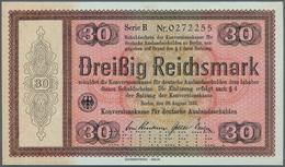 Deutschland - Deutsches Reich Bis 1945: Reichskonversionskasse: 30 Reichsmark 1933, Ohne Heftlöcher - [ 4] 1933-1945 : Terzo  Reich