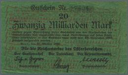 Deutschland - Deutsches Reich Bis 1945: Reichsmarine Ostseebereich 20 Milliarden Mark 1923 Pick M29, - [ 4] 1933-1945 : Terzo  Reich