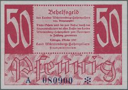 Deutschland - Alliierte Miltärbehörde + Ausgaben 1945-1948: Württemberg - Hohenzollern, Tübingen, Fi - [ 5] 1945-1949 : Occupazione Degli Alleati