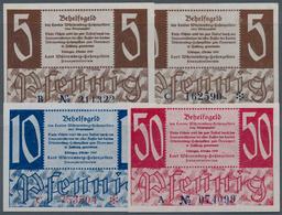 Deutschland - Alliierte Miltärbehörde + Ausgaben 1945-1948: Kleingeldscheine 1947, Land Württemberg- - [ 5] 1945-1949 : Occupazione Degli Alleati