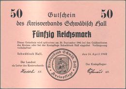 Deutschland - Alliierte Miltärbehörde + Ausgaben 1945-1948: Schwäbisch Hall, Kreisverband, 1, 2, 5, - [ 5] 1945-1949 : Occupazione Degli Alleati