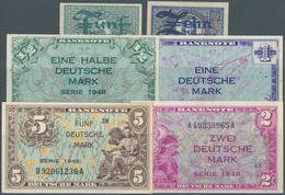 Deutschland - Bank Deutscher Länder + Bundesrepublik Deutschland: Kopfgeldsatz Zu 1/2, 1, 2 Und 5 DM - [ 7] 1949-… : RFA - Rep. Fed. Tedesca
