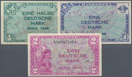 """Deutschland - Bank Deutscher Länder + Bundesrepublik Deutschland: 1/2, 1, 2 DM 1948 """"Kopfgeldserie"""", - [ 7] 1949-… : RFA - Rep. Fed. Tedesca"""