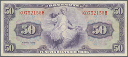 Deutschland - Bank Deutscher Länder + Bundesrepublik Deutschland: 50 DM 1948, Ro.242 In Hübscher Geb - [ 7] 1949-… : RFA - Rep. Fed. Tedesca