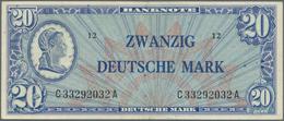 """Deutschland - Bank Deutscher Länder + Bundesrepublik Deutschland: 20 Mark 1948 """"Liberty"""" Ro 246a, St - [ 7] 1949-… : RFA - Rep. Fed. Tedesca"""