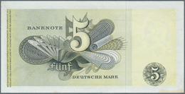 """Deutschland - Bank Deutscher Länder + Bundesrepublik Deutschland: 5 DM 1948 """"Europa"""" Serie 12, Ro.25 - [ 7] 1949-… : RFA - Rep. Fed. Tedesca"""