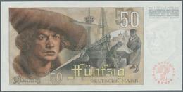 """Deutschland - Bank Deutscher Länder + Bundesrepublik Deutschland: 50 DM 1948 """"Franzosenschein"""", Ro.2 - [ 7] 1949-… : RFA - Rep. Fed. Tedesca"""