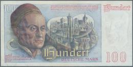"""Deutschland - Bank Deutscher Länder + Bundesrepublik Deutschland: 100 DM 1948 """"Franzosenschein"""", Ro. - [ 7] 1949-… : RFA - Rep. Fed. Tedesca"""