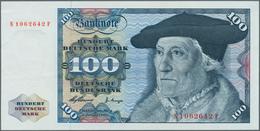 Deutschland - Bank Deutscher Länder + Bundesrepublik Deutschland: 100 Mark 1960 Ro 266, P. 22, Serie - [ 7] 1949-… : RFA - Rep. Fed. Tedesca